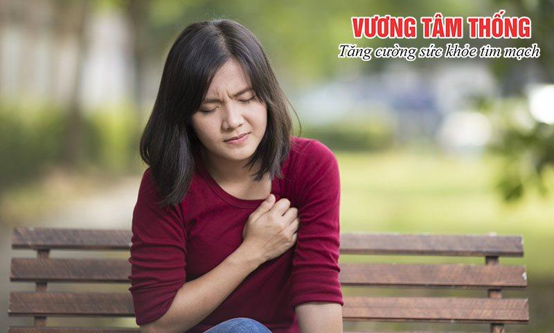 Đau thắt ngực là triệu chứng điển hình của bệnh suy vành